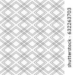 seamless geometric vector... | Shutterstock .eps vector #632263703