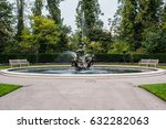 Small photo of Fountain in London Park, squirting water all the way