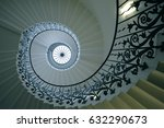 The Sweeping Tulip Stairs Are...
