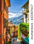 Old Scenic Street In Bellagio ...