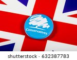 london  uk   may 2nd 2017  a... | Shutterstock . vector #632387783