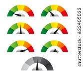 speed metering icon. vector... | Shutterstock .eps vector #632405033