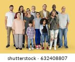 diversity of people generations ... | Shutterstock . vector #632408807