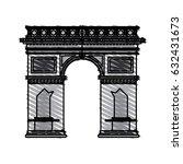 color crayon stripe cartoon... | Shutterstock .eps vector #632431673
