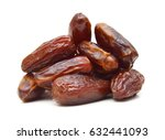 dried dates  fruits of date... | Shutterstock . vector #632441093