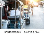 tuk tuk taxi general. pa is the ... | Shutterstock . vector #632455763