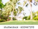 blur  abstract garden grass... | Shutterstock . vector #632467193