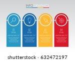 modern info graphic template...   Shutterstock .eps vector #632472197