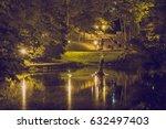 cesis  latvia  2016  street... | Shutterstock . vector #632497403