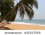 on the shores of the indian... | Shutterstock . vector #632517053