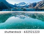 alaska glacier bay johns... | Shutterstock . vector #632521223