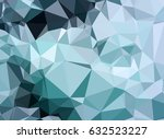 abstract low poly background of ... | Shutterstock .eps vector #632523227