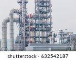 industrial zone the equipment... | Shutterstock . vector #632542187