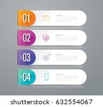 infographics design vector and... | Shutterstock .eps vector #632554067