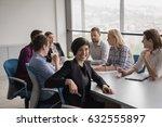 portrait of successful...   Shutterstock . vector #632555897