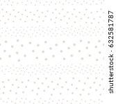 polka dot seamless pattern ...   Shutterstock .eps vector #632581787