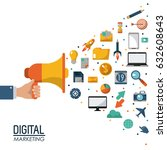 digital marketing megaphone