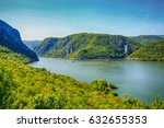 danube river landscape  serbia... | Shutterstock . vector #632655353