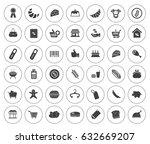 supermarket icons | Shutterstock .eps vector #632669207