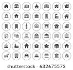 building icons | Shutterstock .eps vector #632675573