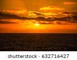 beautiful sunset | Shutterstock . vector #632716427