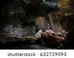 traveller stay in light at the... | Shutterstock . vector #632729093