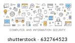vector line concept for... | Shutterstock .eps vector #632764523