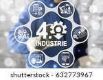 industrie 4.0 introduction it... | Shutterstock . vector #632773967