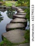 Stone Step  Koko En Japanese...