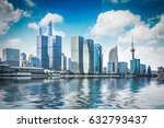modern skyline and buildings in ... | Shutterstock . vector #632793437