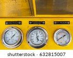 pressure gauge for monitoring... | Shutterstock . vector #632815007