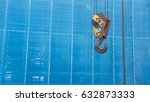 Construction Crane Hook.blue...