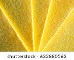 yellow kitchen tissue napkins.   Shutterstock . vector #632880563