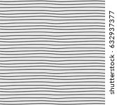 pattern with lines hand drawn.  | Shutterstock .eps vector #632937377