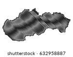 slovakia map vector...   Shutterstock .eps vector #632958887