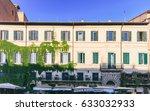 piazza navona  rome  italy   ... | Shutterstock . vector #633032933