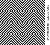 vector seamless pattern.... | Shutterstock .eps vector #633037283
