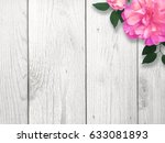mother's day bright pink flower | Shutterstock . vector #633081893