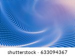 abstract polygonal space low... | Shutterstock . vector #633094367