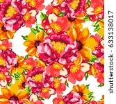 abstract elegance seamless...   Shutterstock . vector #633138017