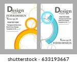 layout design template  cover... | Shutterstock .eps vector #633193667