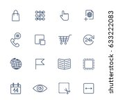 set with quality icons for web...