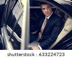 businessman corporate taxi...   Shutterstock . vector #633224723