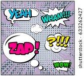 abstract creative concept comic ...   Shutterstock .eps vector #633262427