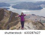 asian young women  happy face...   Shutterstock . vector #633287627