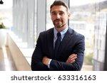 portrait of businessman... | Shutterstock . vector #633316163