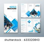tri fold brochure design.... | Shutterstock .eps vector #633320843
