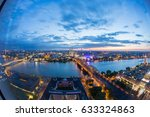 view over the city of cologne ... | Shutterstock . vector #633324863