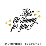 stars are shining for you  ... | Shutterstock .eps vector #633347417