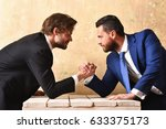 business partners with... | Shutterstock . vector #633375173